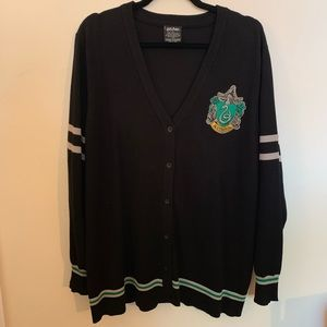 Harry Potter Slytherin Cardigan